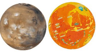 Children's Planetary Maps: Mars Activity